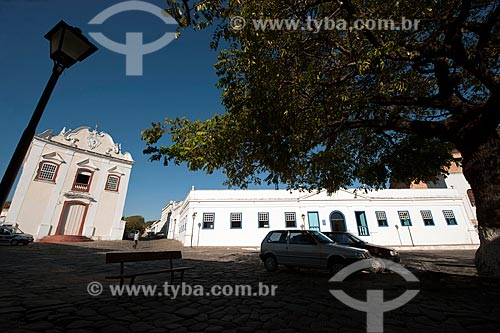 Assunto: Igreja da Boa Morte - Museu de Arte Sacra e Palácio Conde  dos Arcos (1755) / Local: Goiás - Goiás (GO) - Brasil / Data: 07/2011