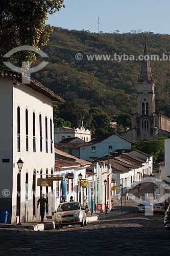 Assunto: Vista da Igreja do Rosário ao fundo / Local: Goiás - Goiás (GO) - Brasil / Data: 07/2011