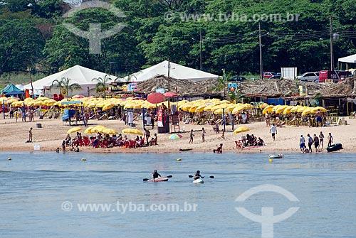 Assunto: Rio Araguaia - Praia fluvial / Local: Aragarças - Goiás (GO) - Brasil / Data: 07/2011