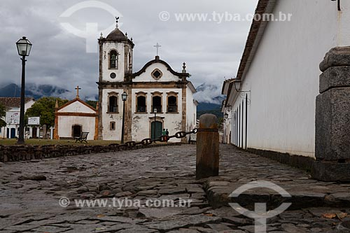 Assunto: Vista da Igreja de Santa Rita - Museu de Arte Sacra de Paraty / Local: Paraty - Rio de Janeiro (RJ) - Brasil / Data: 07/2011