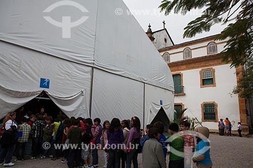 Assunto: Turistas na Festa Literária Internacional de Paraty - FLIP  / Local: Paraty - Rio de Janeiro (RJ) - Brasil / Data: 07/2011