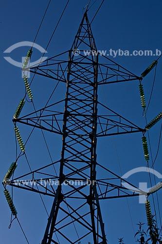 Assunto: Linha de transmissão da subestação da Ampla / Local: Braunes - Nova Friburgo - Rio de Janeiro (RJ) - Brasil / Data: 06/2011