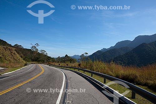 Assunto: Parque Estadual dos Três Picos - Rodovia Estadual RJ-116 trecho entre os municípios de Itaboraí e Nova Friburgo  / Local: Rio de Janeiro (RJ) - Brasil / Data: 06/2011