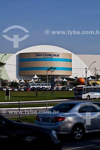 Assunto: Vista do São Gonçalo Shopping na Rodovia Niterói-Manilha   / Local: São Gonçalo - Rio de Janeiro (RJ) - Brasil / Data: 06/2011