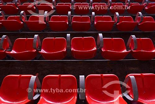 Assunto: Cadeiras vermelhas no Estádio Jornalista Mário Filho  / Local: Rio de Janeiro  (RJ) -  Brasil / Data: 06/2010