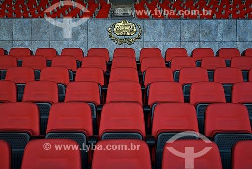 Assunto: Vista da Tribuna de honra do Estádio Jornalista Mário Filho / Local: Rio de Janeiro (RJ) -  Brasil / Data: 06/2010