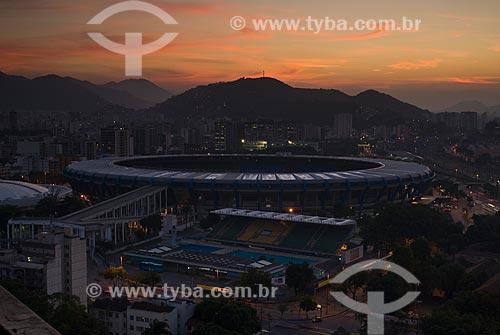 Assunto: Vista do Estádio Jornalista Mário Filho e do Parque Aquático Júlio Delamare / Local: Rio de Janeiro (RJ) -  Brasil / Data: 06/2010