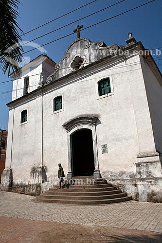 Assunto: Igreja Matriz de São Vicente Mártir (1559) - remanescente da antiga Vila de São Vicente  / Local: São Vicente - São Paulo (SP) - Brasil / Data: 08/2011