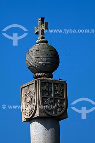 Assunto: Marco Padrão - Inaugurado em 1933 é o símbolo da comemoração dos 400 anos da Fundação de São Vicente / Local: São Vicente - São Paulo (SP) - Brasil / Data: 08/2011