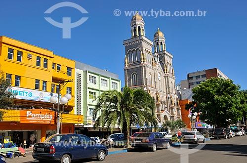 Assunto: Igreja Matriz e Catedral Nossa Senhora Aparecida - Praça Marechal Deodoro / Local: Passo Fundo - Rio Grande do Sul (RS) - Brasil / Data: 03/2011