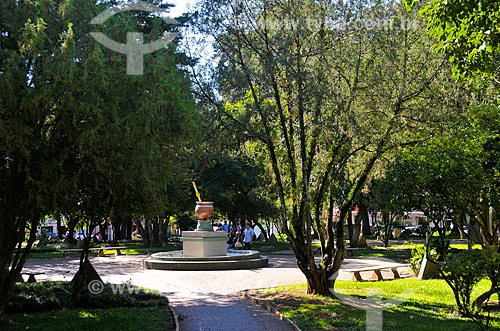 Assunto: Praça Marechal Floriano também conhecida como Praça da Cuia / Local: Passo Fundo - Rio Grande do Sul (RS) - Brasil / Data: 03/2011