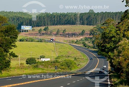 Assunto: Rodovia BR-386 - trecho com declive acentuado e perigo de acidentes / Local: Triunfo - Rio Grande do Sul (RS) - Brasil / Data: 03/2011