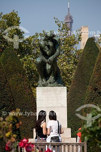Assunto: Museu Rodin - Estátua em Bronze
