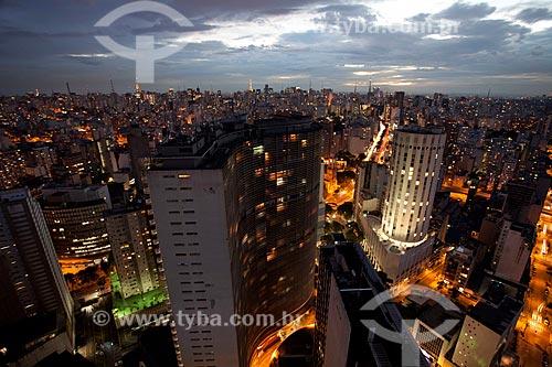 Assunto: Vista panorâmica de São Paulo / Local: São Paulo (SP) - Brasil / Data: 06/2011