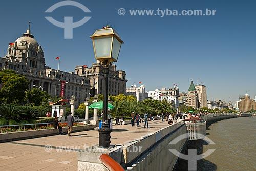 Assunto: Vista de região conhecida como Bund / Local: Xangai - China - Ásia / Data: 11/2006