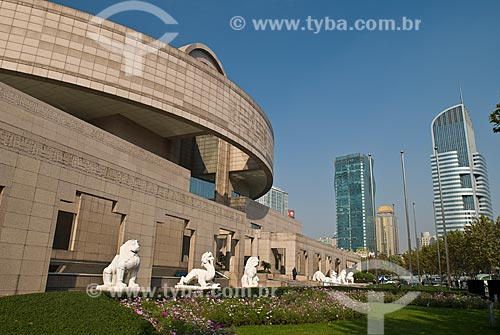 Assunto: Museu de Shanghai / Local: Xangai - China - Ásia / Data: 11/2006