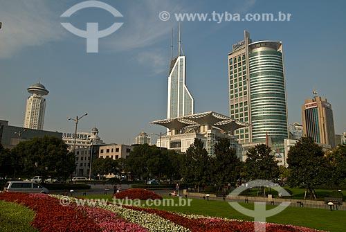 Assunto: Vista da Praça do Povo / Local: Xangai - China - Ásia / Data: 11/2006