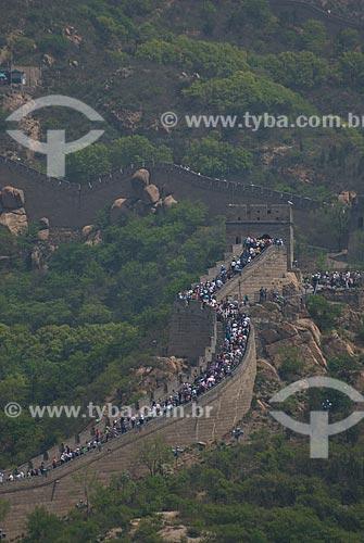 Assunto: Vista da Muralha da China / Local: Pequim - China - Ásia / Data: 05/2010