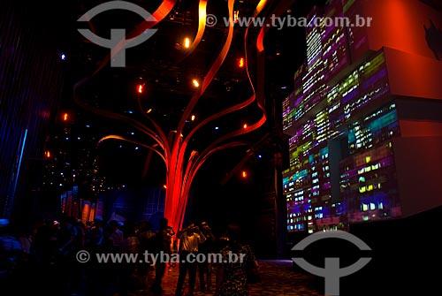 Assunto: Expo Shanghai - Feira Mundial de 2010 Pavilhão EUA / Local: Xangai - China - Ásia / Data: 05/2010