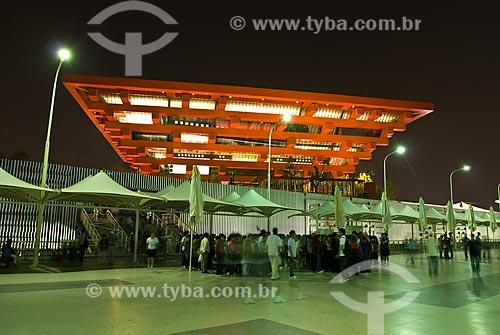 Assunto: China, Shanghai, Expo Shanghai, Feira Mundial de 2010, Pavilhão da China / Local:  / Data: