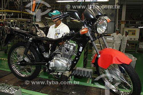 Assunto: Fábrica de motocicletas da Honda - Pólo Industrial de Manaus / Local: Manaus - Amazonas (AM) - Brasil / Data: 04/2011