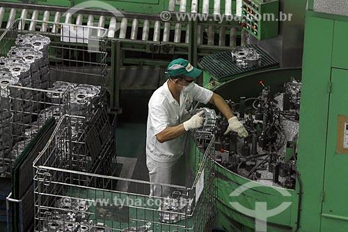Assunto: Fábrica de motocicletas da Honda - Polo Industrial de Manaus / Local: Manaus - Amazonas (AM) - Brasil / Data: 04/2011