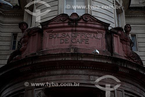 Assunto: Museu do Café - Antiga Bolsa Oficial de Café / Local: Santos - São Paulo (SP) - Brasil / Data: 08/2011