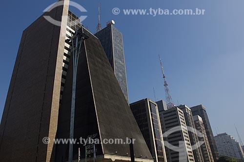 Assunto: Prédio da FIESP (Federação das Indústrias do Estado de São Paulo) na Avenida Paulista / Local: São Paulo (SP) - Brasil / Data: 06/2011