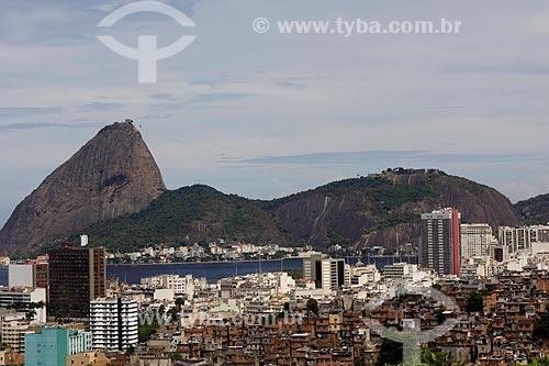Assunto: Vista do Pão de Açúcar com Morro do Santo Amaro em primeiro plano / Local: Rio de Janeiro (RJ) - Brasil / Data: 03/2011