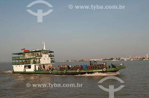 Assunto: Rebocador na Baía do Guajará / Local: Belém - Pará (PA) - Brasil / Data: 12/2010