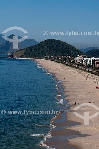 Assunto: Vista aérea da Praia de Piratininga / Local: Niterói - Rio de Janeiro (RJ) - Brasil / Data: 08/2009