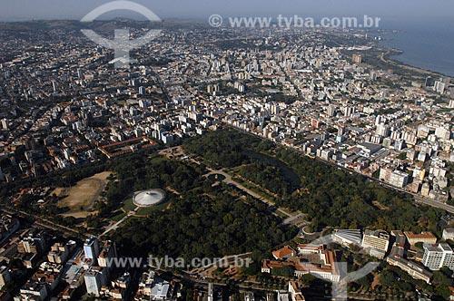 Assunto: Vista aérea de Porto Alegre / Local: Porto Alegre - Rio Grande do Sul (RS) - Brasil / Data: 04/2009