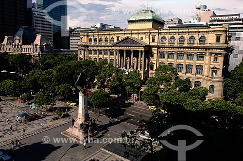 Assunto: Biblioteca Nacional do Rio de Janeiro - Fundação Biblioteca Nacional / Local: Centro - Rio de Janeiro (RJ) - Brasil / Data: 12/2007