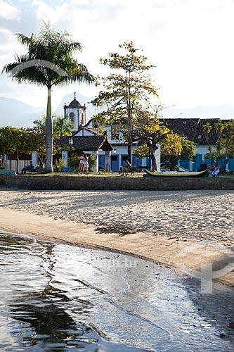 Assunto: Praça da Bandeira com Igreja de Santa Rita ao fundo - construção de 1722 / Local: Paraty - Rio de Janeiro (RJ) - Brasil / Data: 07/2011
