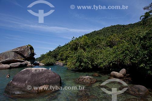 Assunto: Praia do Cachadaço - Vila de Trindade / Local: Paraty - Rio de Janeiro (RJ) - Brasil / Data: 07/2011