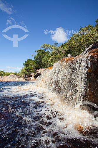 Assunto: Cachoeira na Chapada Diamantina / Local: Bahia (BA) - Brasil / Data: 07/2011