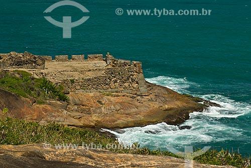 Assunto: Forte Castelo do Mar - construído em 1631 / Local: Cabo de Santo Agostinho - Pernambuco (PE) - Brazil / Data: 09/2011