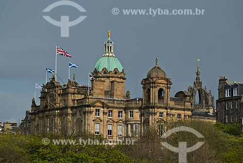 Assunto: Museu da Colina - Antiga sede do Banco da Escócia pertence atualmente ao  Grupo Lloyds Banking / Local: Edimburgo - Escócia - Europae / Data: 05/2010