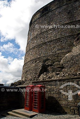 Assunto: Vista de parte do Castelo de Edimburgo / Local: Edimburgo - Escócia - Europa / Data: 05/2010