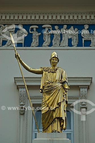 Assunto: Estátua da Deusa Athena / Local: Londres - Inglaterra - Europa / Data: 05/2010