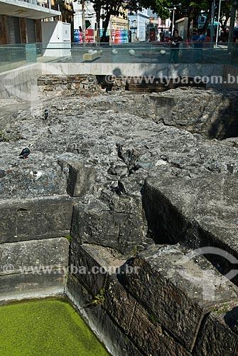 Assunto: Antiga muralha da Cidade do Recife / Local: Recife - Pernambuco (PE) - Brasil / Data: 09/2011