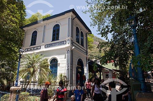 Assunto: Estação da Estrada de Ferro do Corcovado / Local: Cosme Velho - Rio de Janeiro (RJ) -Brasil / Data: 10/2011
