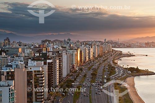 Assunto: Avenida Beira Mar Norte (Avenida Jornalista Rubens de Arruda Ramos) / Local: Florianópolis - Santa Catarina (SC) - Brasil / Data: 09/2011