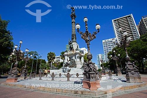 Assunto: Monumento à Independência da Bahia, 02 de Julho de 1823 (Monumento ao Caboclo) - Largo do Campo Grande / Local: Salvador - Bahia (BA) - Brasil / Data: 07/2011