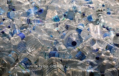 Assunto: Garrafas plásticas de água / Local: Rio de Janeiro (RJ) - Brasil / Data: 01/2011