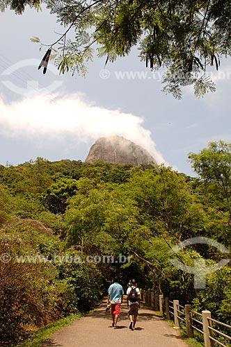 Assunto: Pessoas na Pista Claudio Coutinho / Local: Urca - Rio de Janeiro (RJ) - Brasil / Data: 12/2007