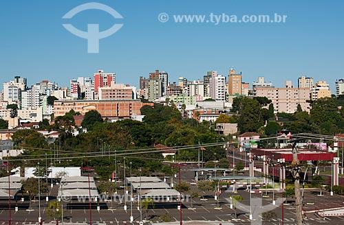 Assunto: Vista panorâmica da cidade de Passo a partir da Avenida Brasil Leste / Local: Passo Fundo - Rio Grande do Sul (RS) - Brasil / Data: 04/2011