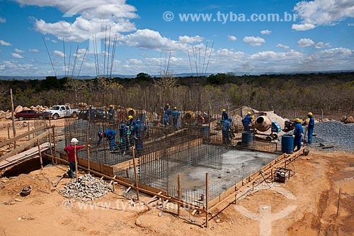 Assunto: Construção de Estação de Tratamento de Esgoto - Programa de Revitalização das Bacias dos rios São Francisco e Parnaíba / Local: Jequitaí - Minas Gerais (MG) - Brasil / Data: 09/2011
