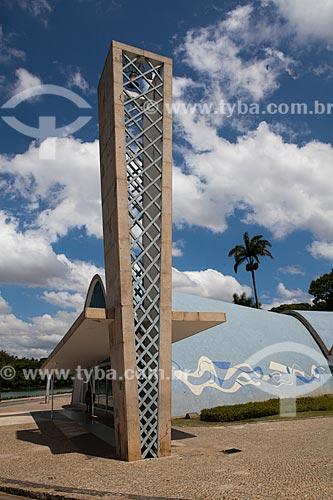 Igreja de São Francisco de Assis, mais conhecida como Igreja da Pampulha  - Belo Horizonte - Minas Gerais - Brasil