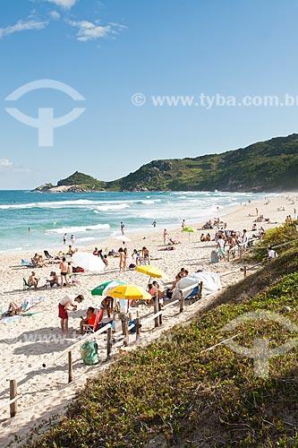 Assunto: Praia Mole - uma das praias mais movimentadas da Ilha de Santa Catarina durante o verão / Local: Florianópolis - Santa Catarina (SC) - Brasil / Data: 27/11/2011